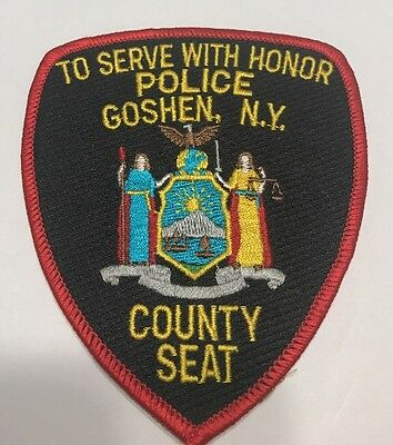 TO SERVE WITH HONOR POLICE GOSHEN, NEW YORK PATCH County Seat