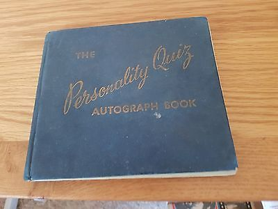 Autograph Book Late 50S Pegg Man Utd Full Wolves And West Brom Teams + Cardiff