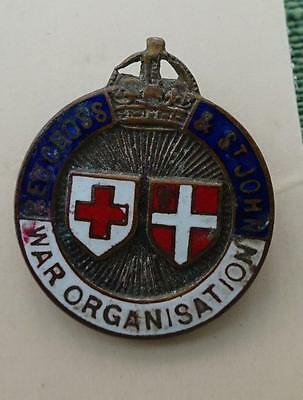 Red Cross and St John's War Organisation Badge