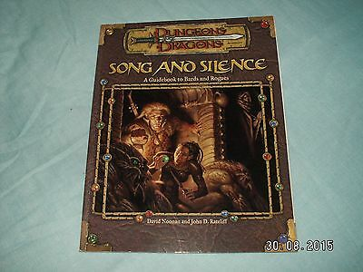 Dungeons And Dragons Song And Silence Softback D20 Wotc Vgc