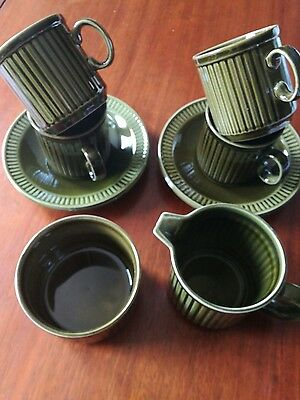 "Midwinter Green Tea Set ""trend"""