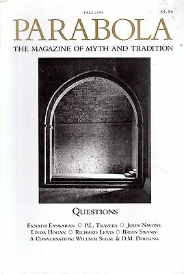 PARABOLA (Fall 1988) MYTH & MEANING- P.D.OUSPENSKY- WILLIAM SEGAL & D.M. DOOLING