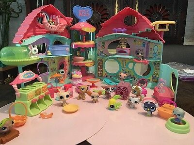 LITTLEST PET SHOP PETSHOP LPS  LA MENAGERIE ANIMAUX MAISON ACCESSOIRES Lot