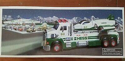 2014 Hess Toy Truck and Space Cruiser with Scout 50th Anniversary NIB