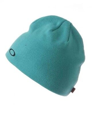 Brand New Mens Oakley Turquoise  3.0 Beanie Hat (One Size)