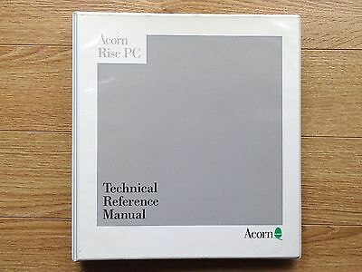 Acorn Risc PC Technical Reference Manual Used