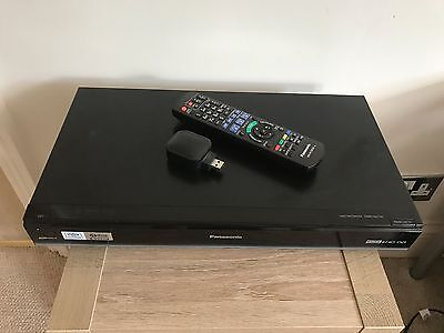 Panasonic DMR-HW100 Freeview+ HD Set Top Box Recorder and Media Player
