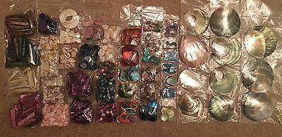 shell bead joblot