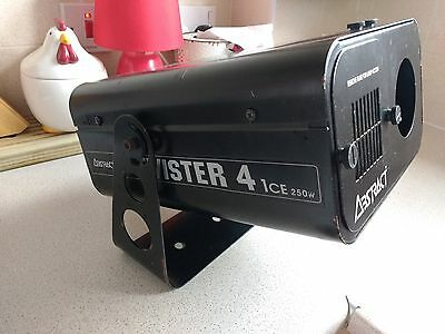 Abstract 250 Watt Twister 4 disco light good working order can pick up in person