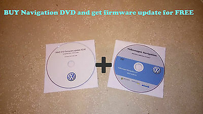 VW SKODA SEAT V14 RNS510 RNS810 2017 Navigation Map DVD West Europe