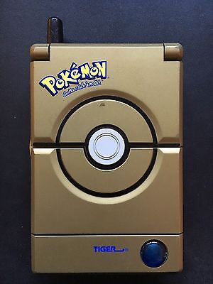 Pokemon Pokedex Deluxe Gold Edition 2001 Tiger Electronic Working Nintendo