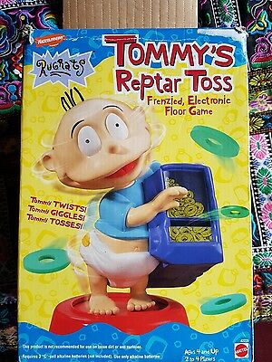 rugrats tommy reptar toss