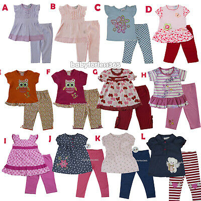 23b39693a7c30 NWT LAURA ASHLEY Baby Girls Shirt with legging outfit Size 3 6 9 12 ...