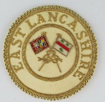 Masonic Regalia-Provincial Grand Standard Bearer badge - East Lancashire