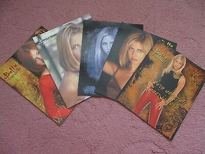 Buffy The Vampire Slayer Large Postcards x 5