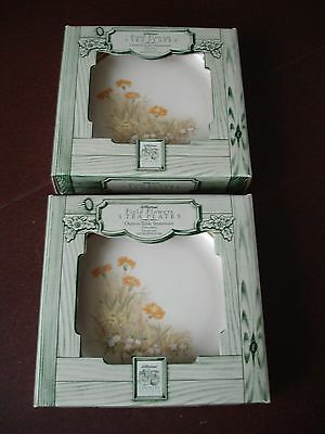 Marks & Spencer (M & S) Field Flowers design Tea/side Plates x 6. New in Boxes