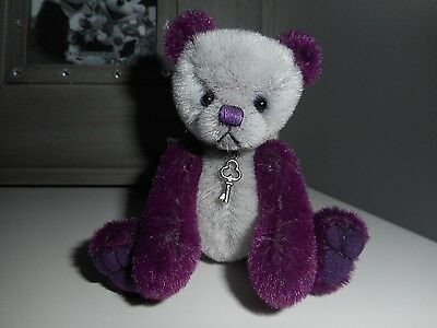 "Miniature 4"" Artist Ooak Bear By Baggaley Bears Max 1/1"