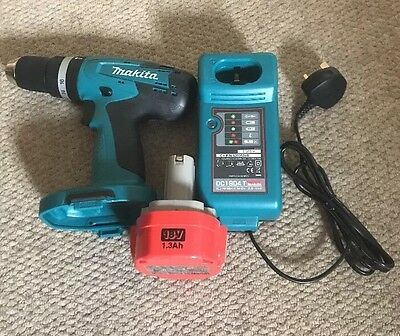 Makita 8391D 18 V Drill , DC1804T Charger , And 18 V 1.3 Battery BNWT