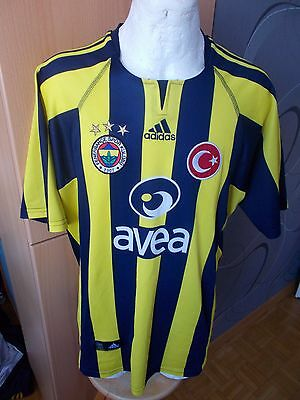 Adidas Fenerbahce Turkish Home Vintage Maglia Shirt Jersey Rare Football