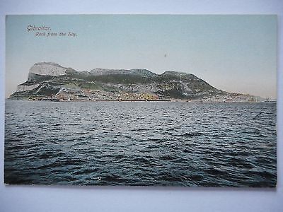 Postcard - Gibraltar - Rock from the Bay
