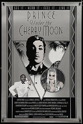 UNDER THE CHERRY MOON original film / movie poster - Prince