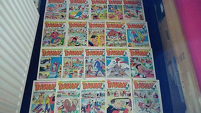 Vintage Dandy Comic Joblot X 20 All From 1988