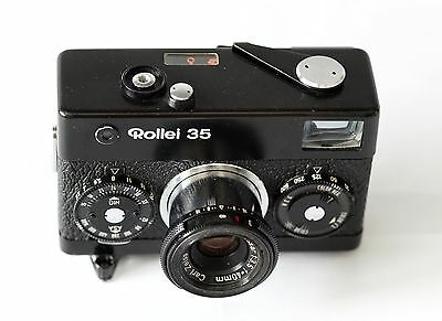 Rollei 35 with Carl Zeiss Tessar f3,5 4cm