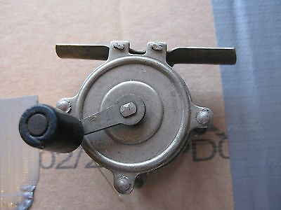 Vintage and very rare miniature American fishing reel