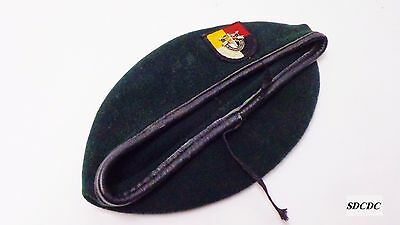 Vietnam Era  3Rd Special Forces Group (Airborne) Rifle Green Wool Beret Rare