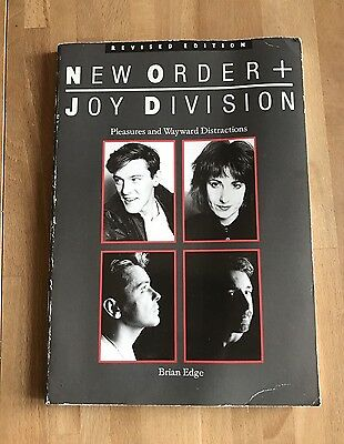 JOY DIVISION AND NEW ORDER PLEASURES AND WAYWARD DISTRACTIONS BOOK Paperback