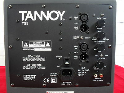 Tannoy TS-8 Subwoofer