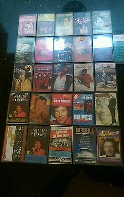 26 MUSIC CASSETTES mixed 60's 70's 80's