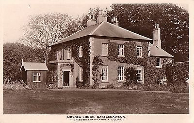 Moyola Lodge Castledawson Residence Of Mr & Mrs Clarke Londonderry Rp Postcard