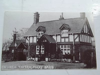 Vintage Style postcard. Church Tavern. Perry Barr Birmingham.