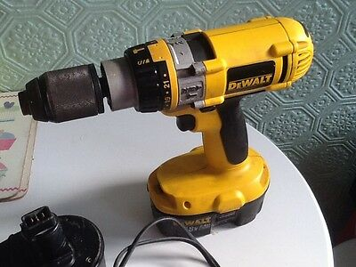 Dewalt  DC988. 18V Xrp Hammer Drill 2 BATTERiIRS And Change