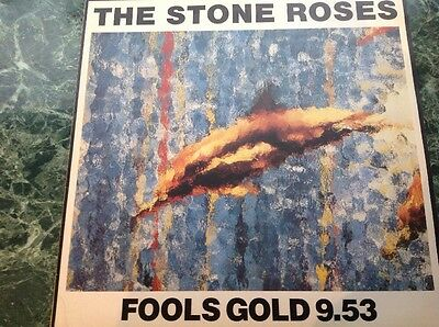 """Stone Roses 12"""" Fools Gold 9.53 Ore T 13"""