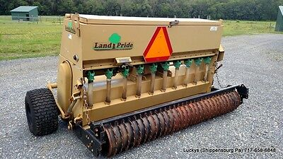 LAND PRIDE OS1572 Solid Stand Tractor 3 Point Over Seeder Lawn Grass 30-60HP