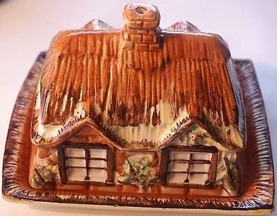 Vintage PRICE KENSINGTON COTTAGE WARE -  Butter / Cheese Dish