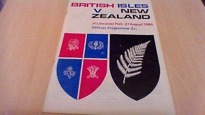 1966 British Isles(Lions) V New Zealand-3Rd Test At Lancaster Park