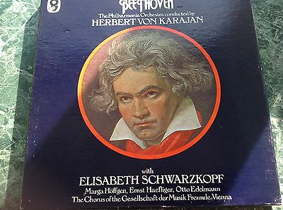 The Nine Symphonies Of Beethoven 7 Lp Box Set Royal Philharmonic Vinyl Records