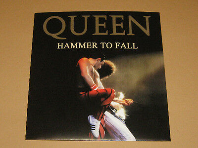 "QUEEN - Lot of 6 x ""Rare SINGLES"" PICTURE FAN SLEEVES"