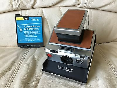 Polaroid SX-70 Instant Film Camera-Tested&Working Great Looking-Please ReadBelow