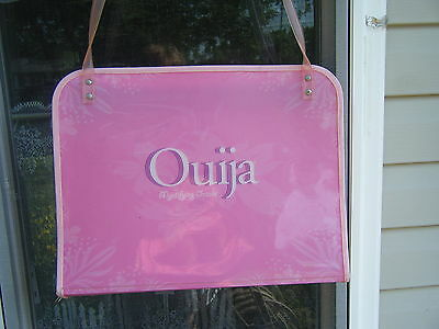 PINK Parker Brothers 2008 Ouija Board Mystifying Oracle With Travel Case RARE