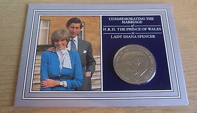 1981 Charles & Diana Commemorative Wedding Crown Coin in Presentation Pack