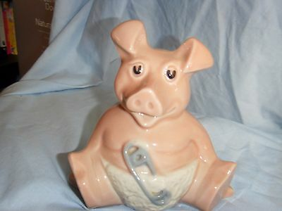 Nat west wade pig moneybox (Woody)