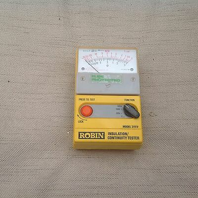 Robin Insulation Continuation Tester With Leads