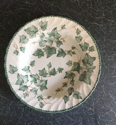 "BHS Country Vine Pattern Pottery Collection Pudding/Cereal Bowls Approx 9""/23cm"