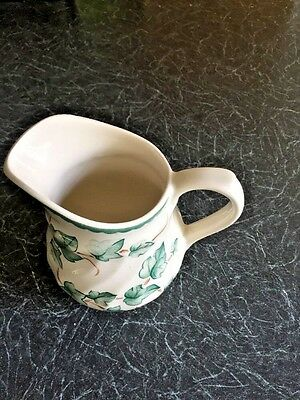 BHS Country Vine Pattern Pottery Collection Milk Jug