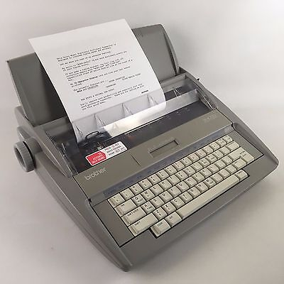 Brother SX-4000 Portable Electronic Typewriter w/ LCD Display