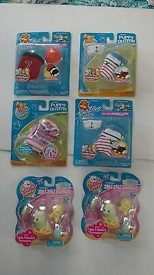 Lot of 6 Zhu Zhu Pets Accessories New In Opened Packages